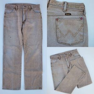 Vintage Wrangler Distressed Ultra High Rise Pants